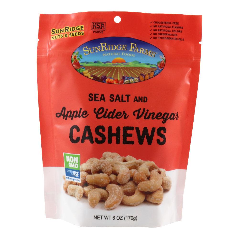 Sea Salt & Apple Cider Vinegar Cashews