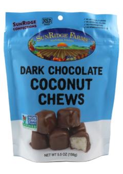 Dark Chocolate Coconut Chews